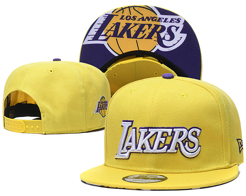 2020 NBA Los Angeles Lakers 06 hat