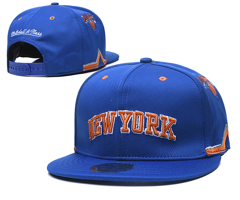 2020 NBA New York Knicks 01 hat