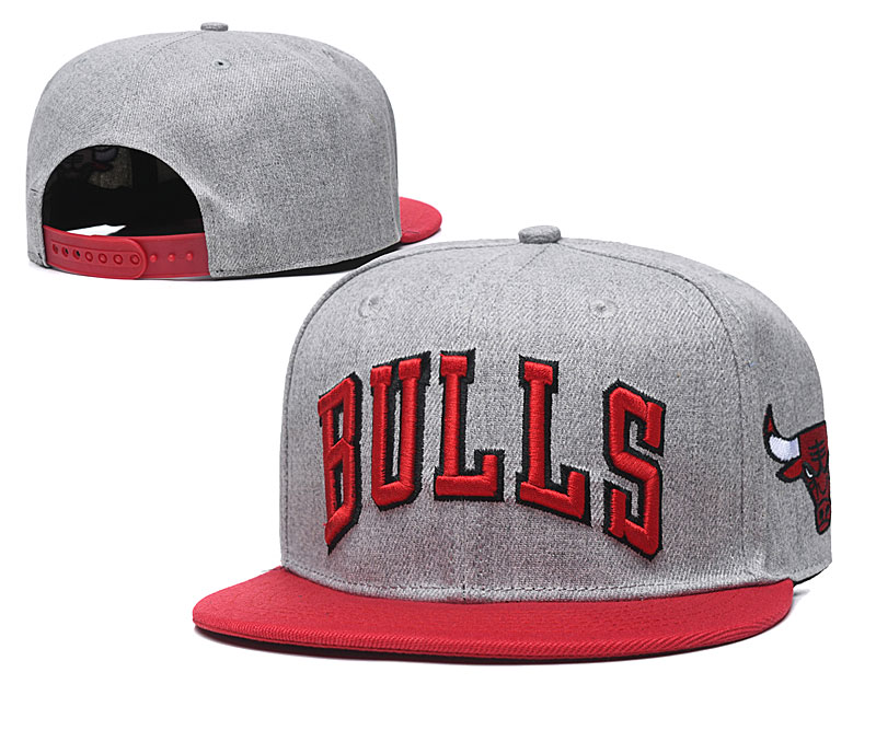 2020 NBA Chicago Bulls 01 hat