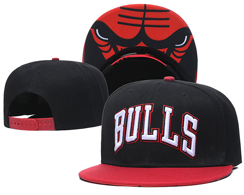 2020 NBA Chicago Bulls 03 hat