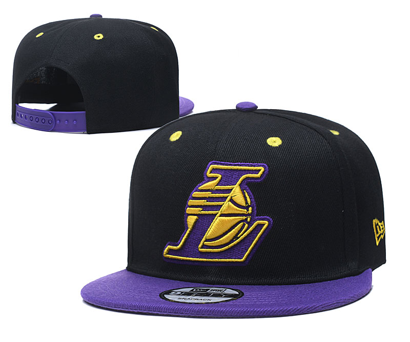 2020 NBA Los Angeles Lakers 02 hat