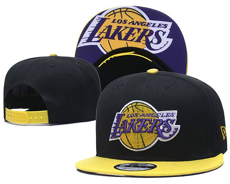 2020 NBA Los Angeles Lakers 03 hat