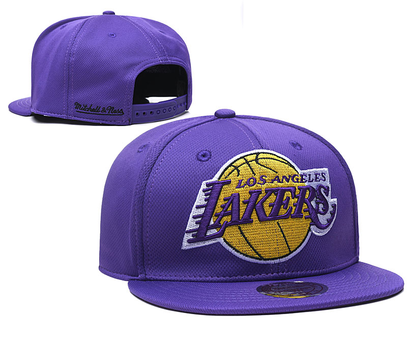 2020 NBA Los Angeles Lakers 08 hat