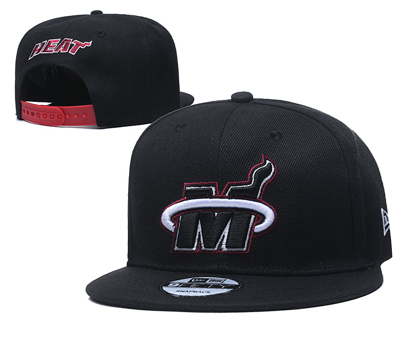 2020 NBA Miami Heat 01 hat