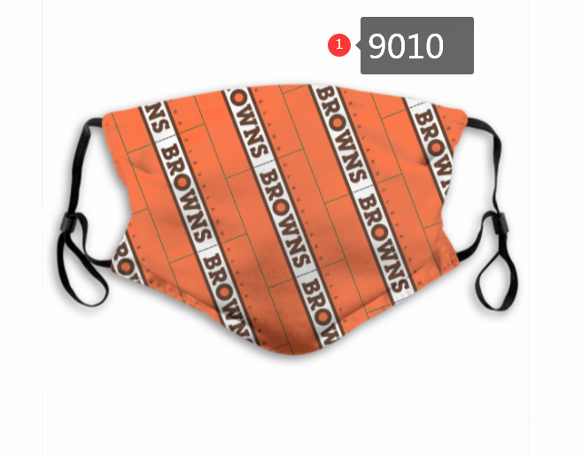 2020 NFL Cleveland Browns Dust mask with filter