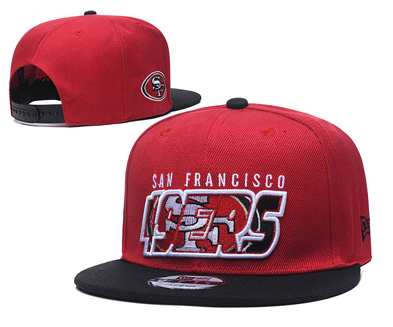 2020 NFL San Francisco 49ers 04 hat