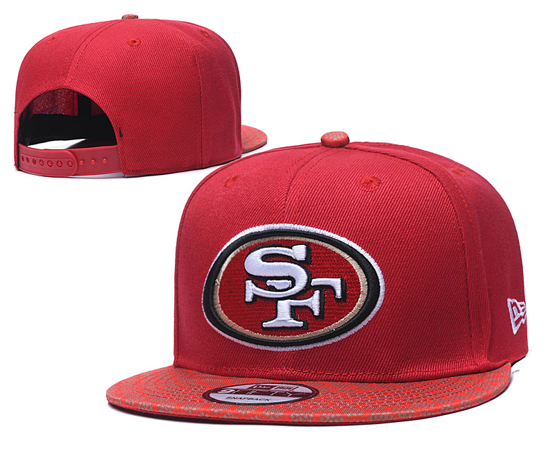 2020 NFL San Francisco 49ers 05 hat