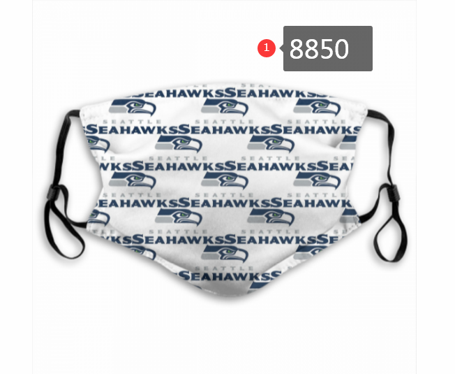 2020 Seattle Seahawks 7 Dust mask with filter