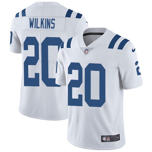 Indianapolis Colts 20 Limited Jordan Wilkins White Nike NFL Road Youth Jersey Indianapolis Colts Vapor UntouchableVapor Untouchable jerseys