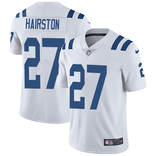 Indianapolis Colts 27 Limited Nate Hairston White Nike NFL Road Men Vapor Untouchable jerseys