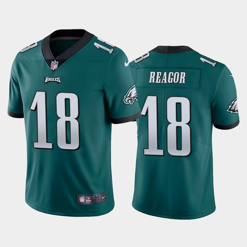Men Nike Philadelphia Eagles 18 Jalen Reagor Green 2020 NFL Draft First Round Pick Vapor Untouchable Limited Jersey