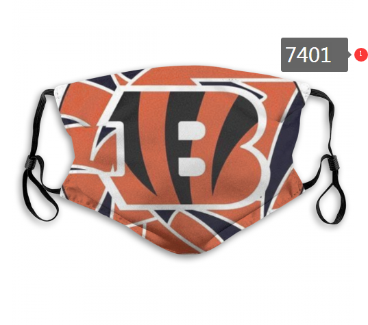 NFL 2020 Cincinnati Bengals 56 Dust mask with filter