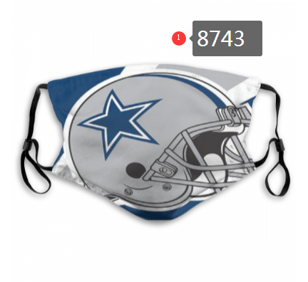 NFL 2020 Dallas Cowboys Dust mask with filter