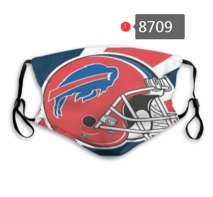 NFL 2020 Detroit Lions 3 Dust mask with filter