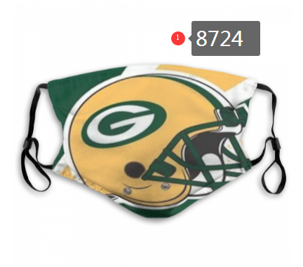 NFL 2020 Green Bay Packers Dust mask with filter