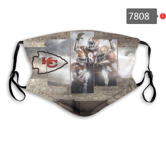 NFL 2020 Kansas City Chiefs 47 Dust mask with filter