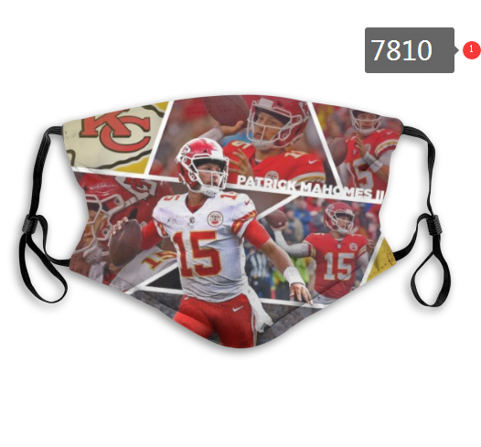 NFL 2020 Kansas City Chiefs 45 Dust mask with filter