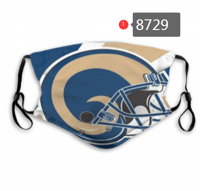 NFL 2020 Los Angeles Rams Dust mask with filter
