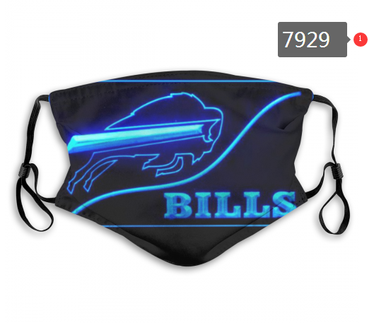 NFL 2020 Miami Dolphins 10 Dust mask with filter