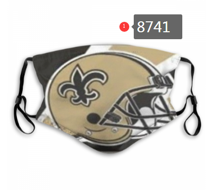 NFL 2020 New Orleans Saints Dust mask with filter