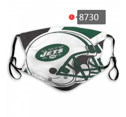 NFL 2020 New York Jets Dust mask with filter