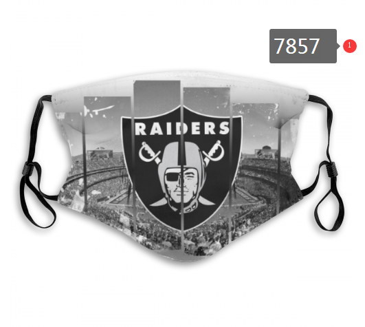 NFL 2020 Oakland Raiders 31 Dust mask with filter