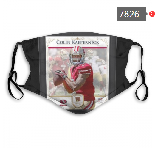 NFL 2020 San Francisco 49ers 27 Dust mask with filter