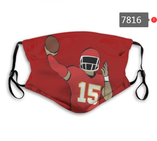 NFL 2020 San Francisco 49ers 58 Dust mask with filter