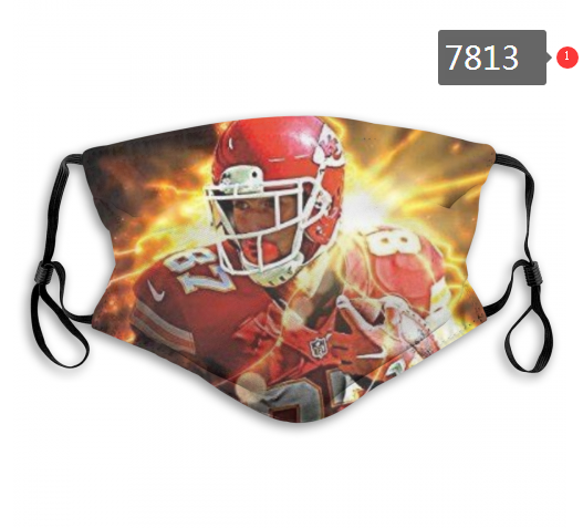 NFL 2020 San Francisco 49ers 62 Dust mask with filter