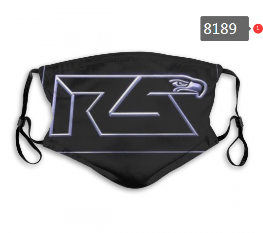 NFL 2020 Seattle Seahawks 13 Dust mask with filter