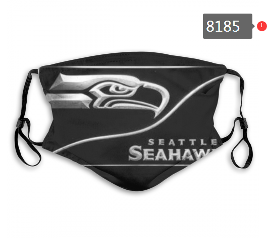NFL 2020 Seattle Seahawks 14 Dust mask with filter