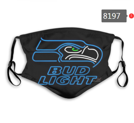 NFL 2020 Seattle Seahawks 5 Dust mask with filter