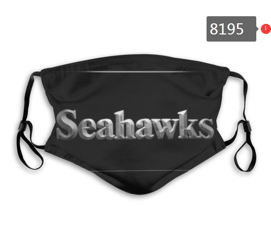NFL 2020 Seattle Seahawks 6 Dust mask with filter