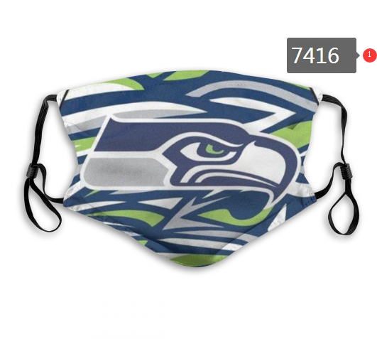 NFL 2020 Seattle Seahawks 67 Dust mask with filter