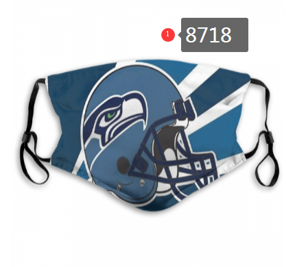 NFL 2020 Seattle Seahawks Dust mask with filter
