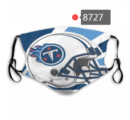 NFL 2020 Tennessee Titans Dust mask with filter
