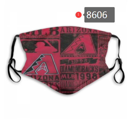 New 2020 Arizona Diamondbacks Dust mask with filter