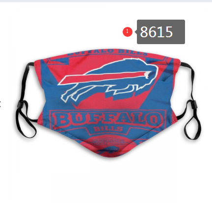 New 2020 Buffalo Bills 8 Dust mask with filter