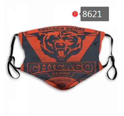 New 2020 Chicago Bears Dust mask with filter