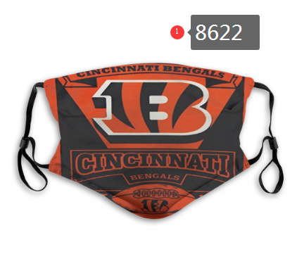 New 2020 Cincinnati Bengals Dust mask with filter