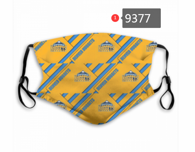 New 2020 Denver Nuggets Dust mask with filter