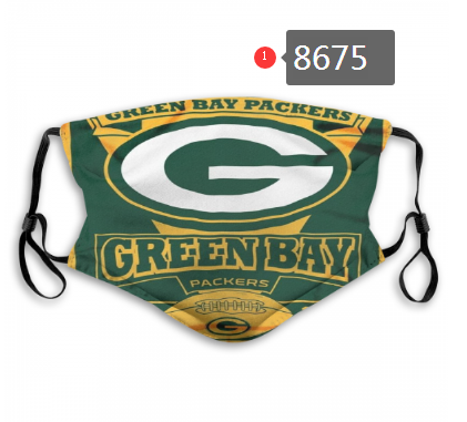 New 2020 Green Bay Packers Dust mask with filter