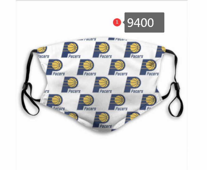 New 2020 Indiana Pacers 2 Dust mask with filter