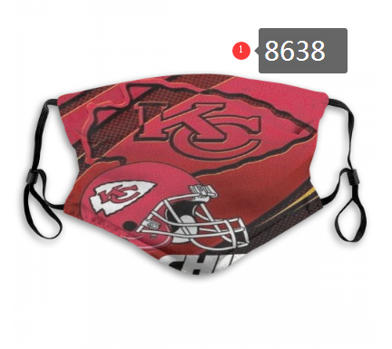 New 2020 Kansas City Chiefs Dust mask with filter