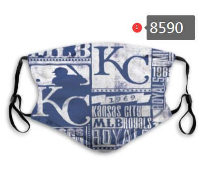 New 2020 Kansas City Royals Dust mask with filter