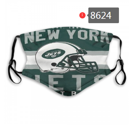 New 2020 New York Jets Dust mask with filter