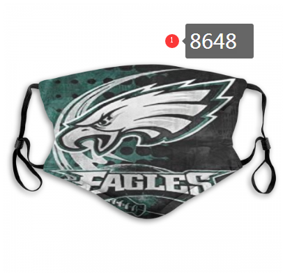 New 2020 Philadelphia Eagles 3 Dust mask with filter