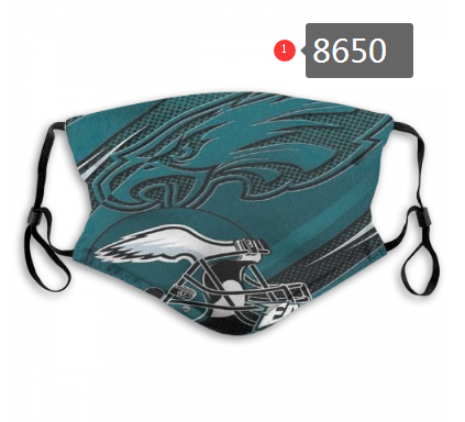New 2020 Philadelphia Eagles Dust mask with filter