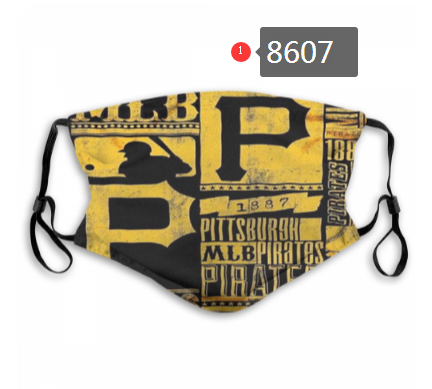 New 2020 Pittsburgh Pirates Dust mask with filter