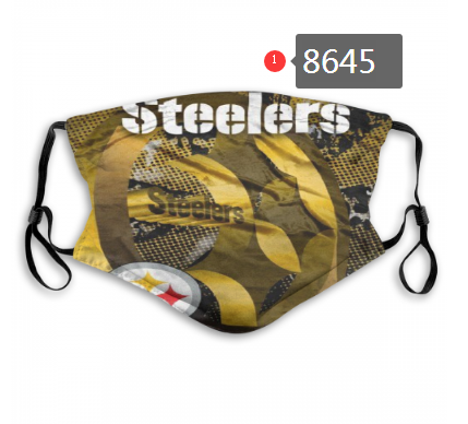 New 2020 Pittsburgh Steelers Dust mask with filter